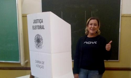 Elisa Lopes satisfeita com os rumos de sua candidatura
