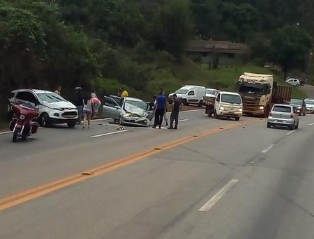 Não há informações sobre as vítimas do acidente