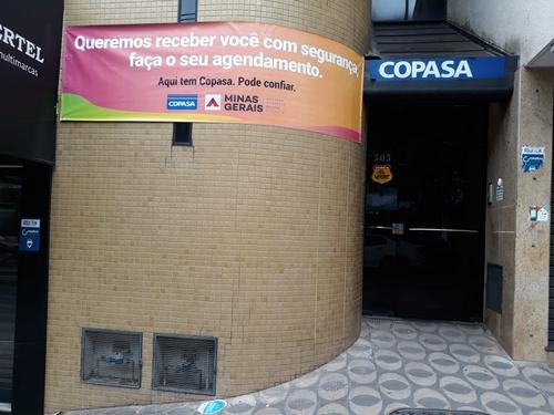 Agência da Copasa em Lafaiete retoma atendimento agendado