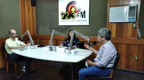 Alvaro foi o entrevistado de hoje na série sobre as eleições municipais