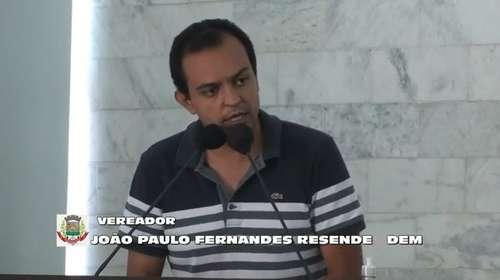 João Paulo alertou prefeito sobre necessidade de solucionar problemas da cidade
