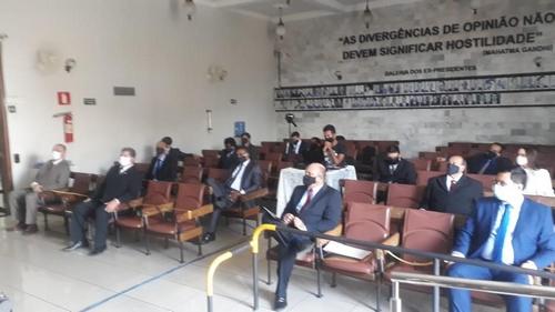 Vereadores eleitos participam da solenidade de diplomação