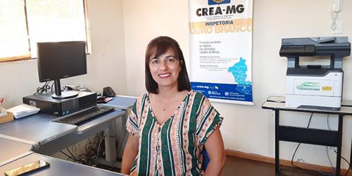 Elisabete Rioga, nova inspetora do Crea-MG
