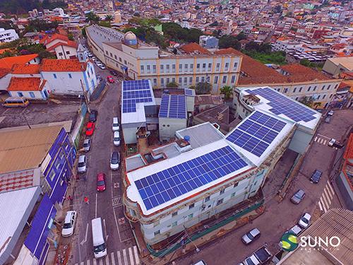 Painéis fotovoltaicos no Hospital Queluz. Projeto traz sustentabilidade