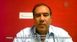 Bento Oliveira representou o Sindcomercio no encontro