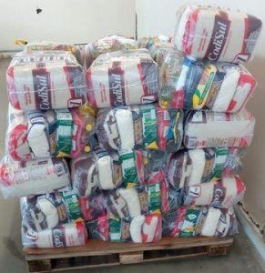 50 cestas básicas foram distribuídas