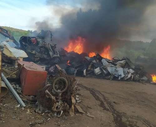 Incêndio só teve danos materiais