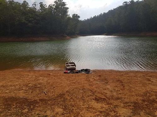 Represa do Taboão, localizada no distrito de Santa Rita de Ouro Preto