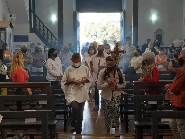 Crucifixo foi recuperado