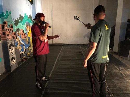 Festival levou a cultura hip-hop para as redes
