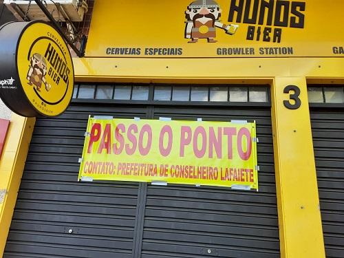"""""""Hunos Bier"""" participa da manifestação"""