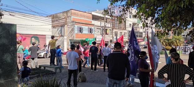 Manifestação em Lafaiete