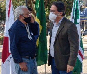 Glaycon Franco e dr. Elias