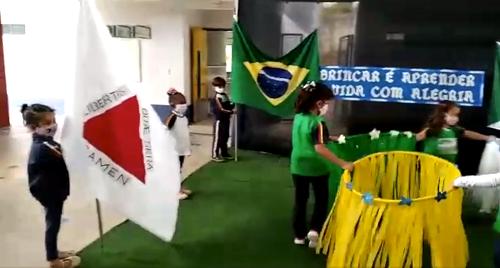 Vídeo destaca a educação em Ouro Branco