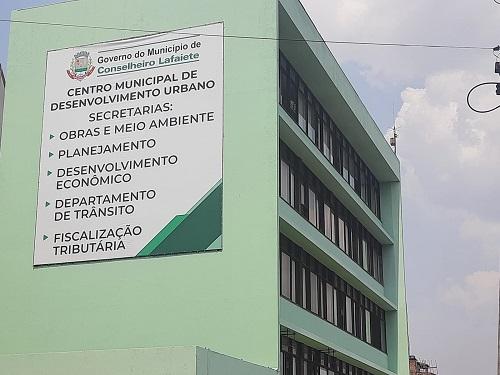 Local abrigará diversas Secretarias