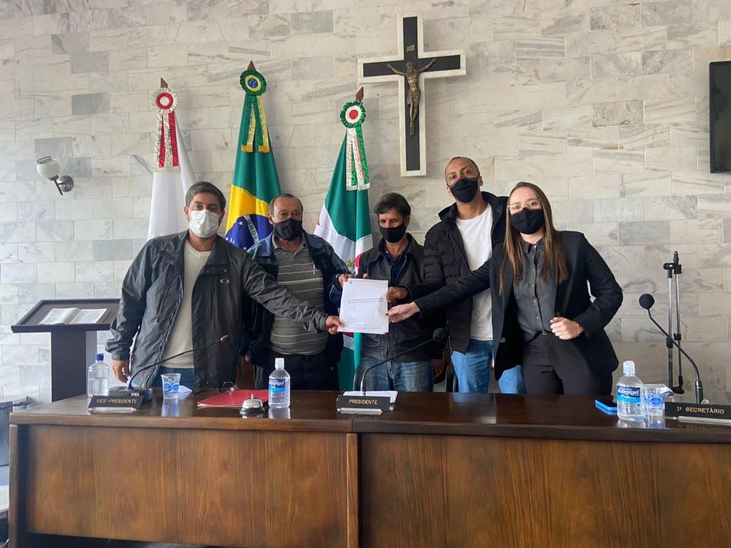 Vereadores integrantes da CPI